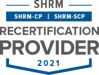 SHRM Recertification Provider Seal 2021 - PNG